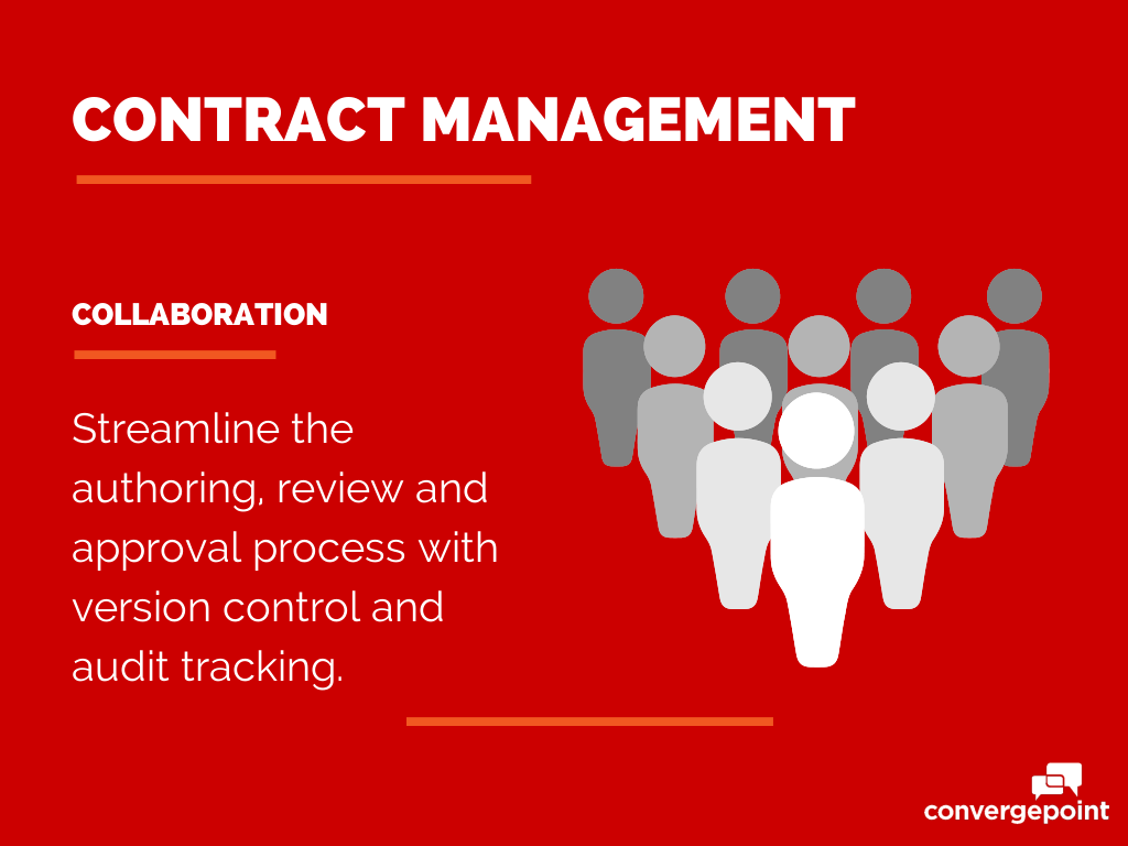 Contract Management Software - Collaboration