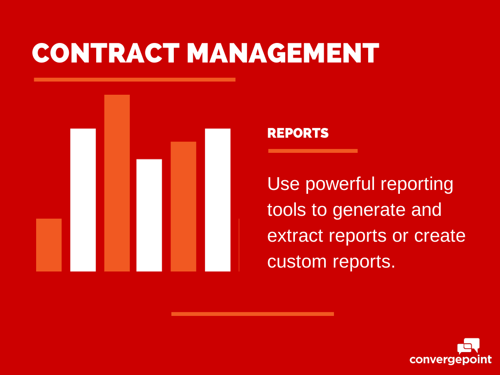 Contract Management Software - Reports