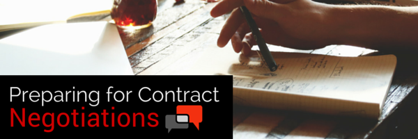 Preparing for Contract Negotiations - ConvergePoint.com