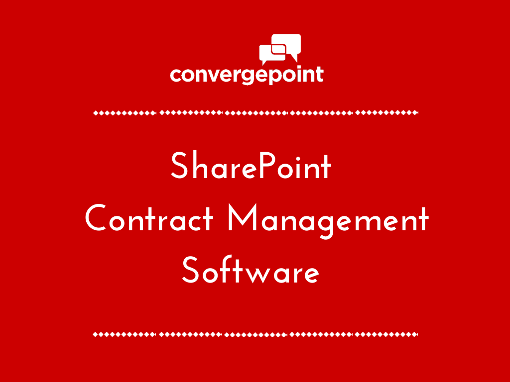 SharePoint Contract Management Software