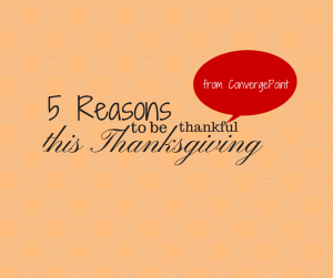 Happy Thanksgiving from ConvergePoint
