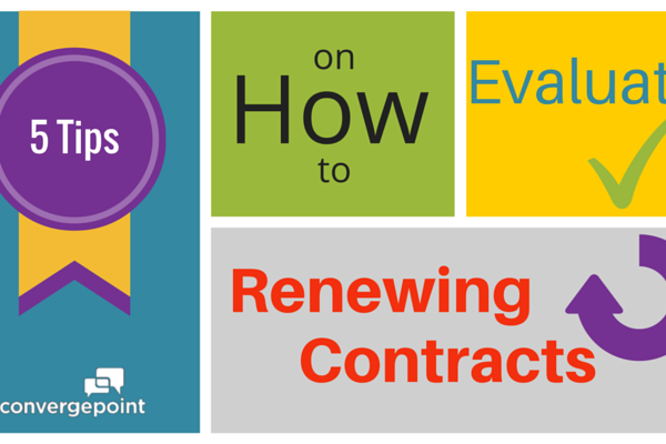 How to Evaluate Renewing Contracts
