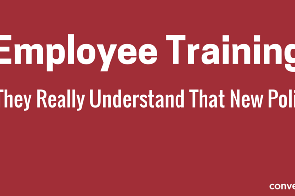 Employee Training Software - Policy Training