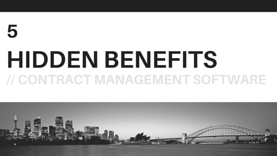 5 Hidden Benefits - Contract Management Software