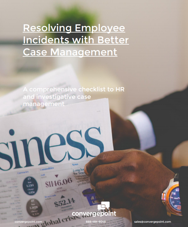 Resolving Employee Incidents with Better Case Management
